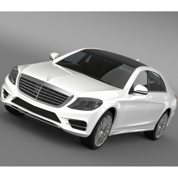 AMG Mercedes Benz S 500 Plug In Hybrid W222 2014 - 3DOcean Item for Sale