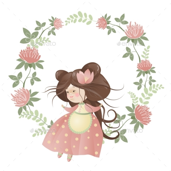 GraphicRiver Flower Girl 10158496