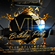 VIP Birthday Flyer Template - GraphicRiver Item for Sale