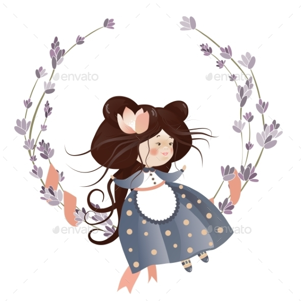 GraphicRiver Flower Girl 10158668