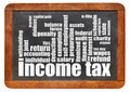 income tax word cloud - PhotoDune Item for Sale
