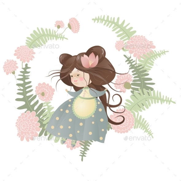 GraphicRiver Flower Girl 10158705