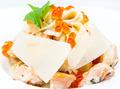 macaroni and cheese and salmon caviar - PhotoDune Item for Sale