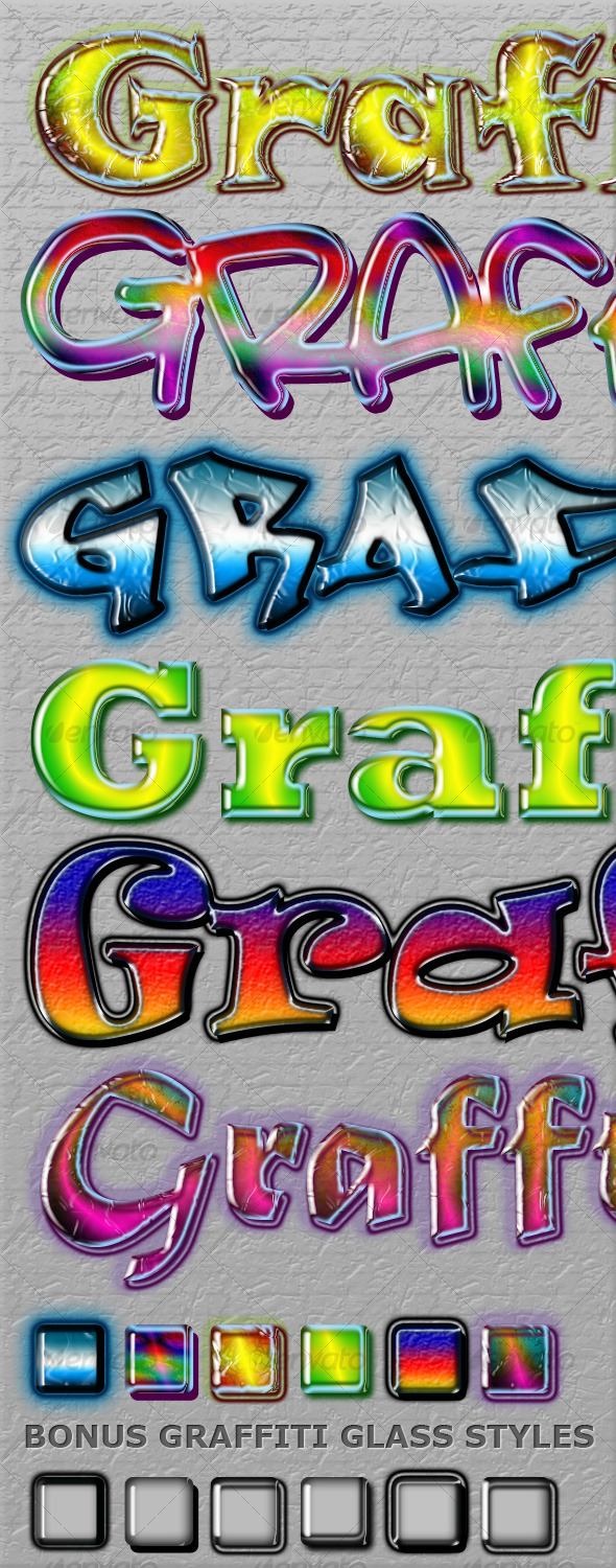 Cool Graffiti Styles - Text Effects Styles