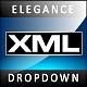 XML Dropdown Menu Elegance - ActiveDen Item for Sale