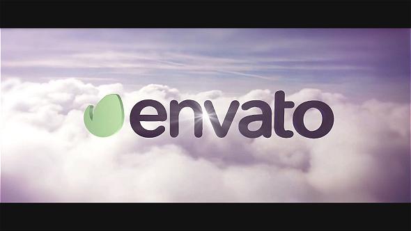 Cinematic Clouds Logo Intro