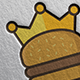 King Burger Logo - GraphicRiver Item for Sale
