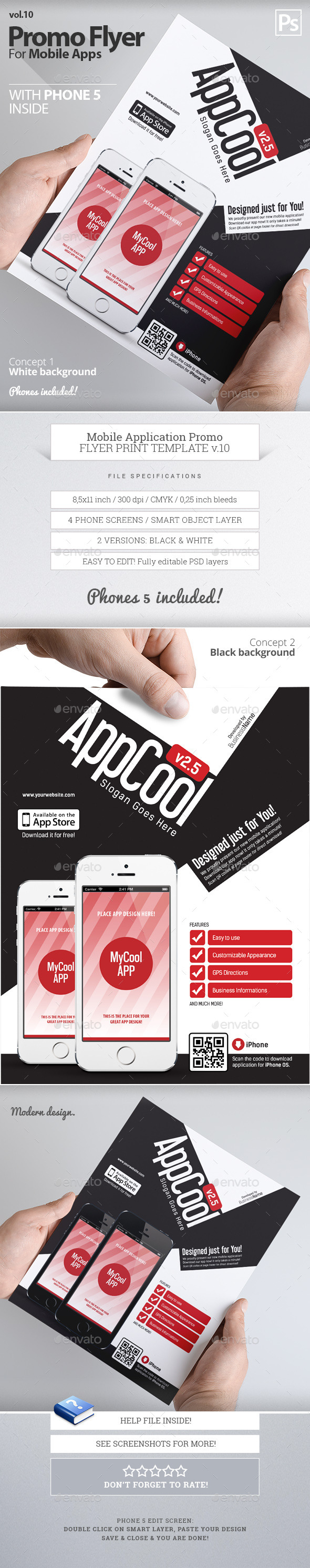 Mobile App Flyers 10