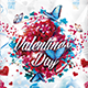 Flyer Valentines Day Konnekt - GraphicRiver Item for Sale