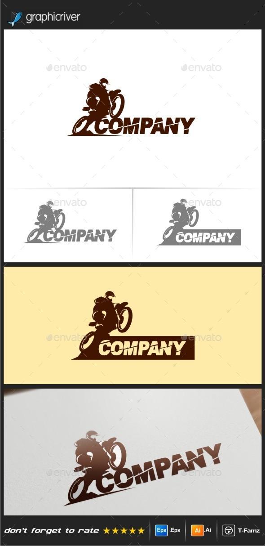 GraphicRiver Motocross Logo Templates 10159209