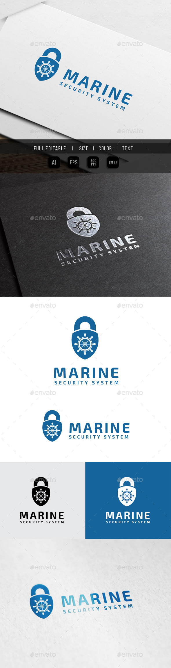 GraphicRiver Marine Security System 10159210