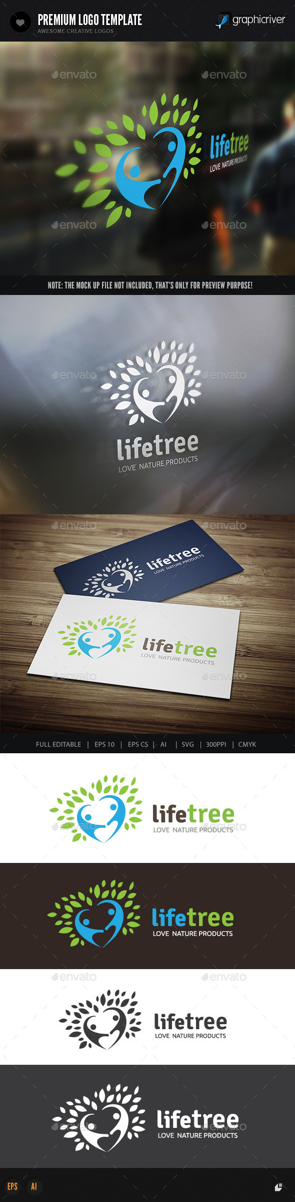GraphicRiver Life Tree 10159342