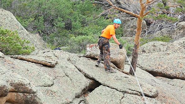 VideoHive Rock Climber 10159358