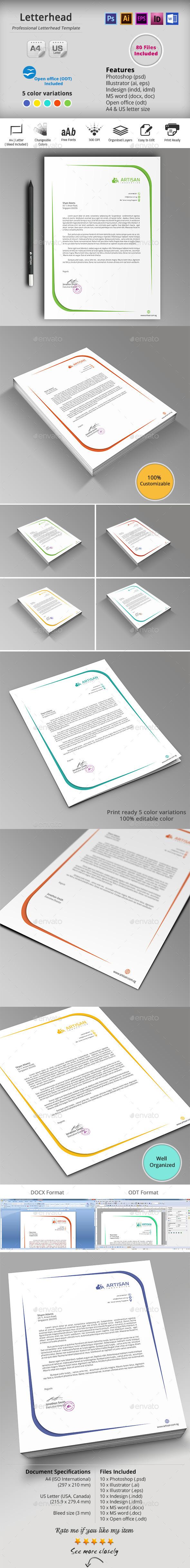 GraphicRiver Letterhead 10159461