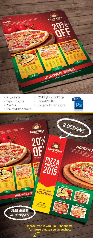 GraphicRiver Pizza 10159520