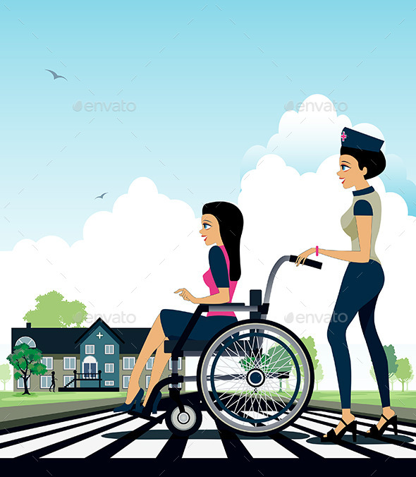 GraphicRiver Wheelchair 10159808