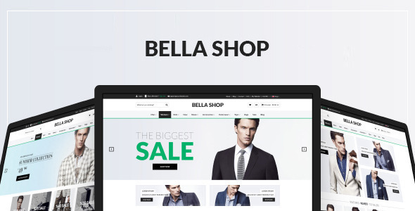 Bella - Multipurpose eCommerce Template - Shopping Retail