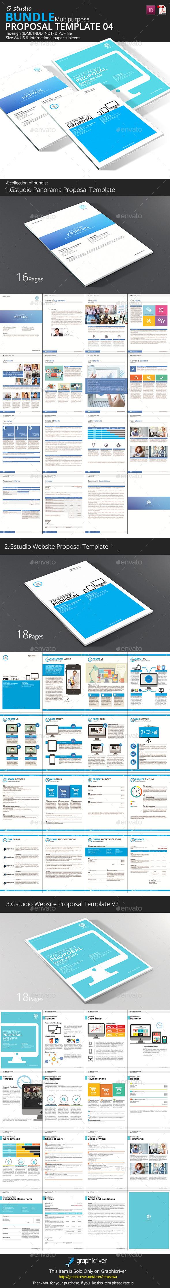 GraphicRiver Gstudio Proposal Bundle 4 10159882