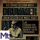 Vintage Drum Session Event Flyer - GraphicRiver Item for Sale