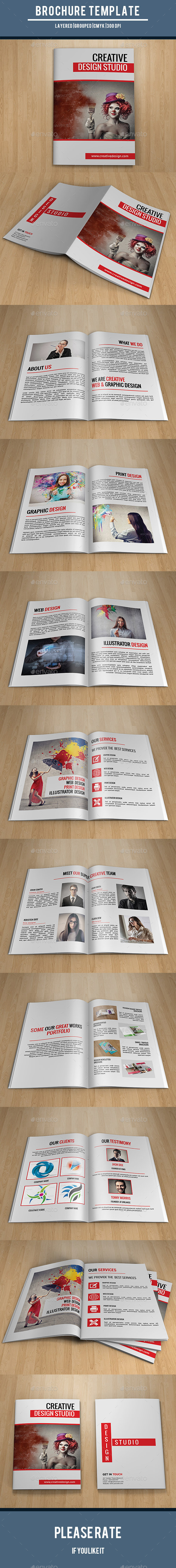 GraphicRiver Design Studio Brochure-V185 10160448