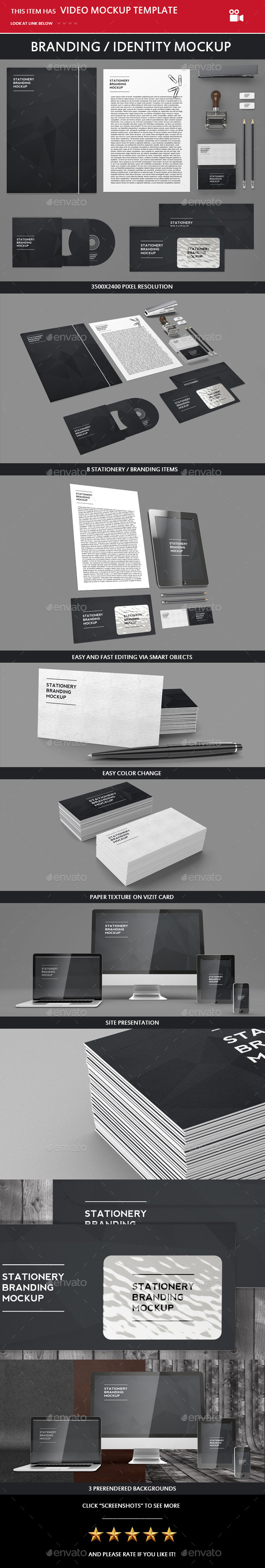 GraphicRiver Branding Identity Mock-up 10115537