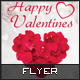 Happy Valentines Flyer - GraphicRiver Item for Sale