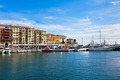 View on Port of Nice and Luxury Yachts, French Riviera - PhotoDune Item for Sale