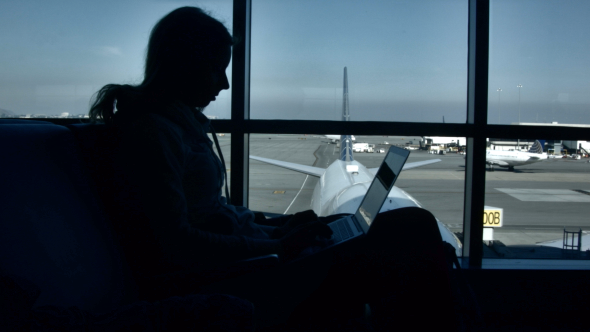 VideoHive Working at the Airport 10162062