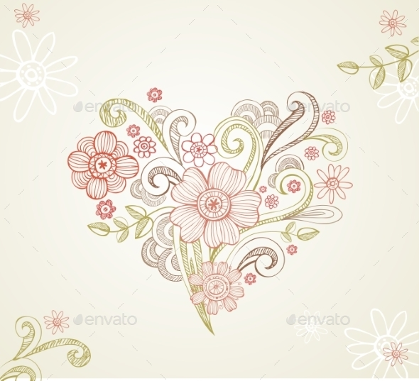 GraphicRiver Greeting card for Wedding or Valentines Day 10162243