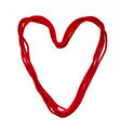 heart from red rope - PhotoDune Item for Sale