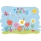 Hello Spring Greeting Card - GraphicRiver Item for Sale