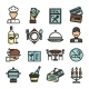 Restaurant Icons Set - GraphicRiver Item for Sale