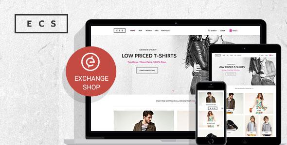 ThemeForest Exchange Shop Responsive WordPress Shop Theme 10163862