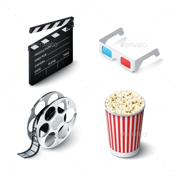 GraphicRiver Cinema Realistic Set 10163939