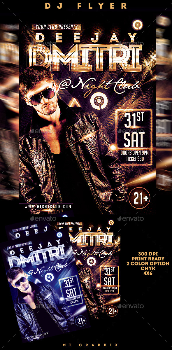 GraphicRiver Dj Flyer 10127040