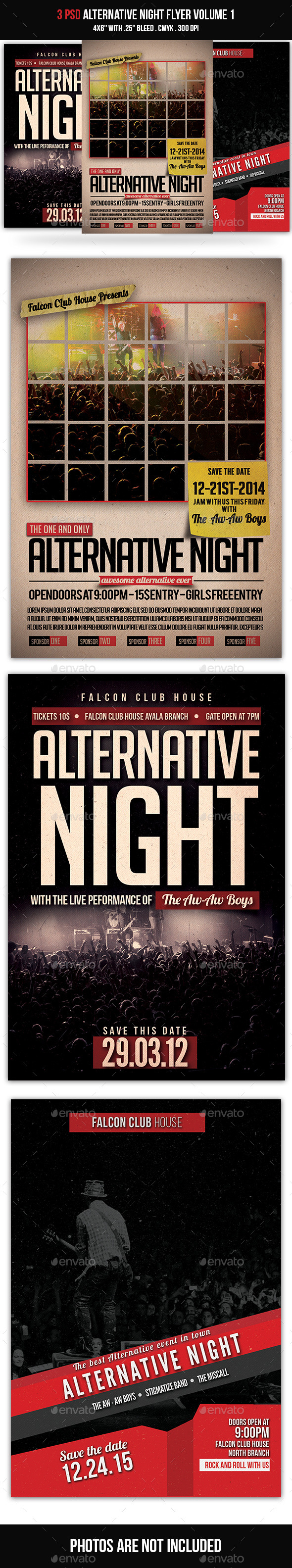 GraphicRiver Alternative Night Bundle Volume 1 10123617
