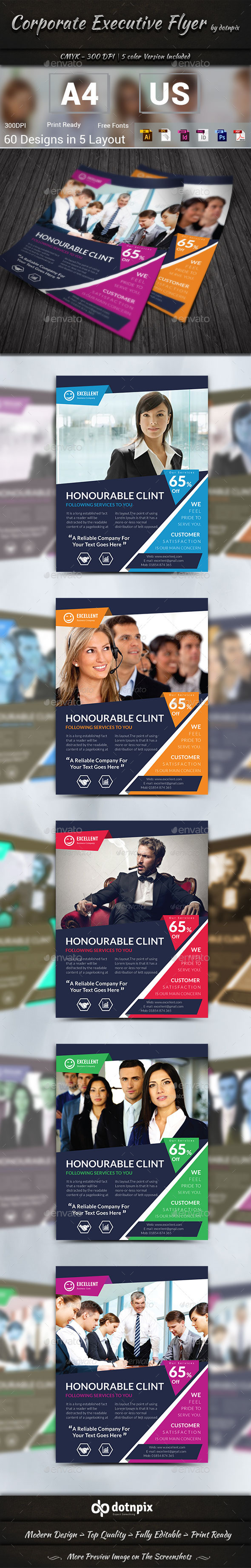 GraphicRiver Corporate Executive Flyer 10164928