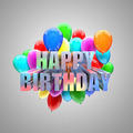 birthday balloons - PhotoDune Item for Sale
