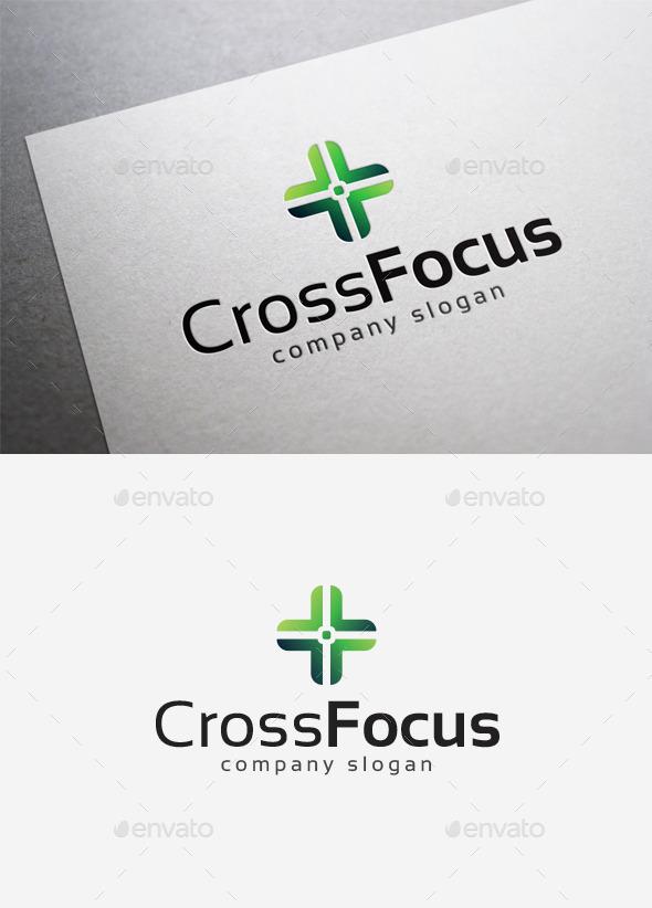GraphicRiver Cross Focus Logo 10165964