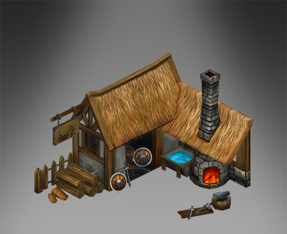 Blacksmith  - 3DOcean Item for Sale