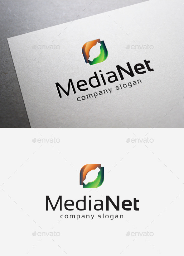 GraphicRiver Media Net Logo 10166034