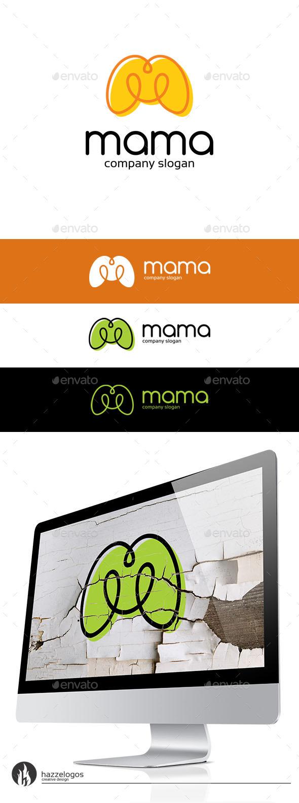 GraphicRiver Mama Logo 10166037