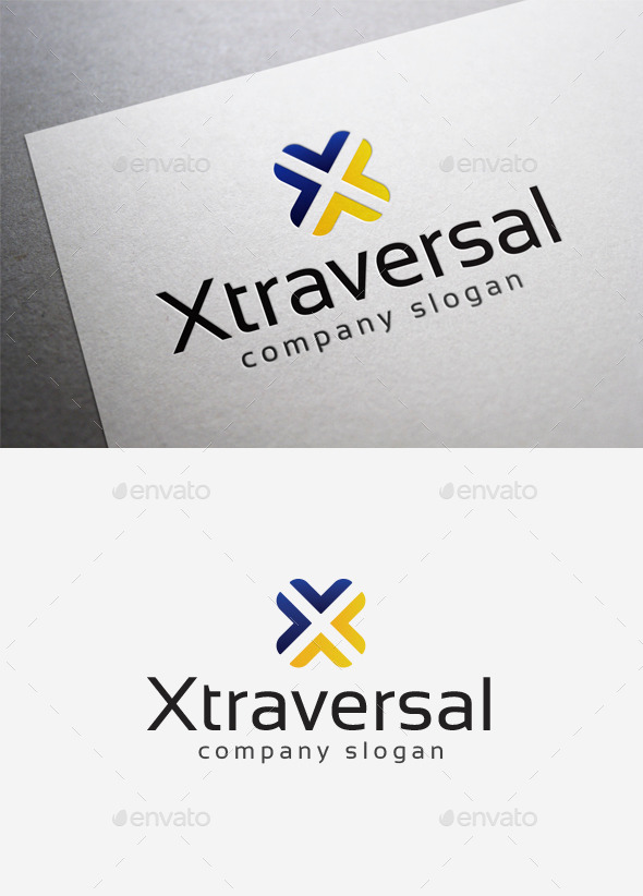 GraphicRiver X Traversal Logo 10166125