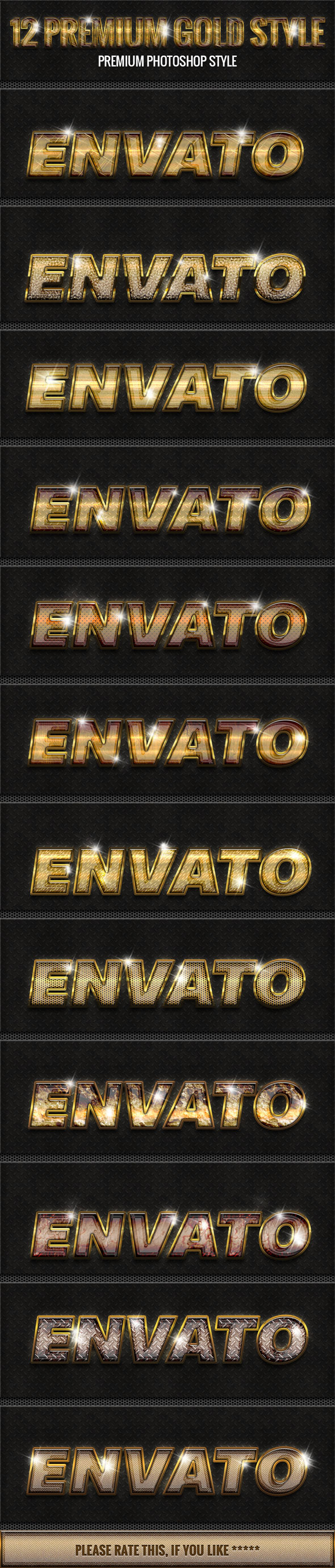 GraphicRiver 12 New Gold Style 3 10166223