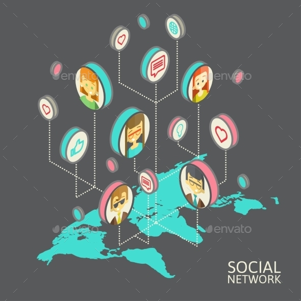 GraphicRiver Social Networks 10166284
