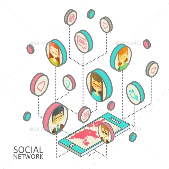 GraphicRiver Social Network 10166285