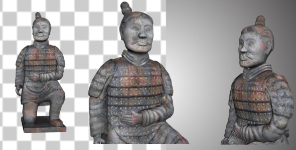 Chinese Terracotta Warrior V2