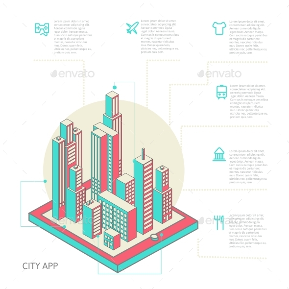 GraphicRiver Infographic Buildings 10166301
