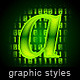 Illustrator Graphic Styles. Techno - GraphicRiver Item for Sale