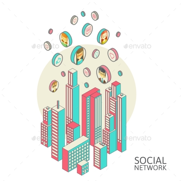 GraphicRiver Social Networks 10166316